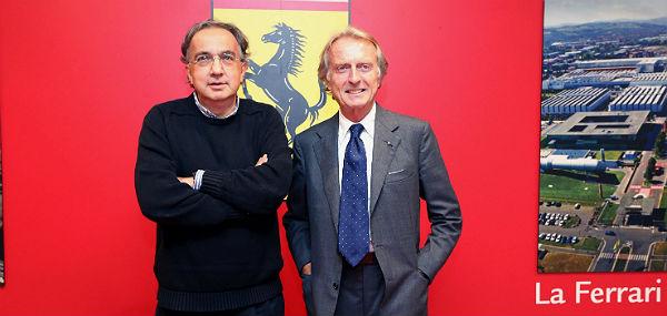 Marchionne y Montezemolo (Foto: Efe).