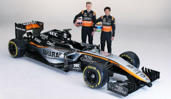 Presentación del nuevo Force India VJM08 en México. (Foto: Foce India).