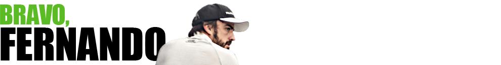 Bravo, Fernando – Fórmula 1