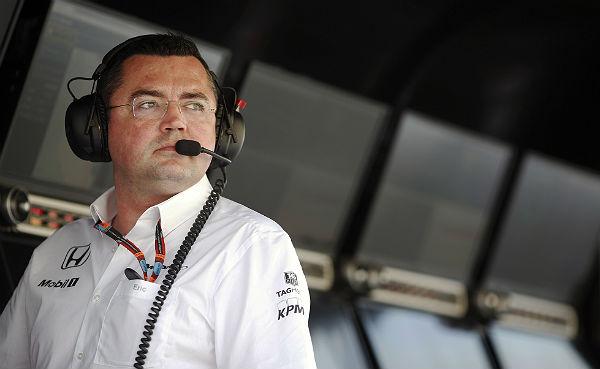 Eric Boullier (Foto: McLaren).