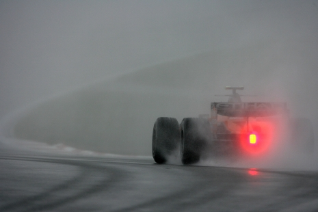 Resultado de imagen de Fórmula 1 en lluvia