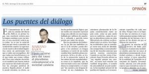 Artículo Rajoy El País