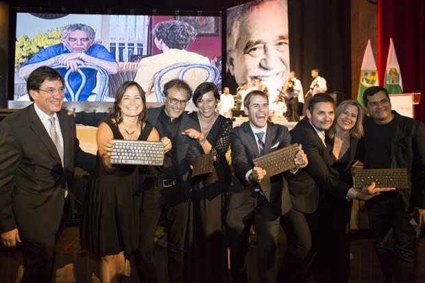 Medellín, Colombia, entrega de Premios Gabriel García Márquez de Periodismo. Foto: David Estrada Larrañeta/FNPI.