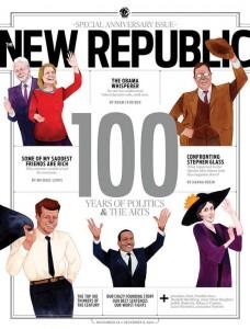El número especial de los 100 años de New Republic.