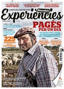 Un pastor de Gandesa, Tarragona, protagoniza la portada de