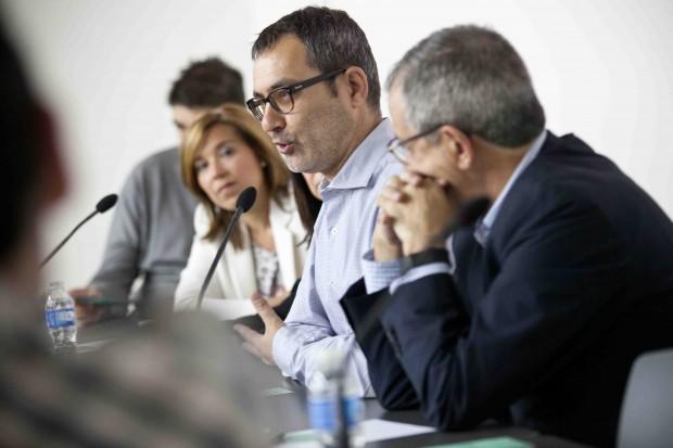 Toni Piqué interviniendo en el XIII Encuentro de Responsables de Tecnología de los Medios de Comunicación.