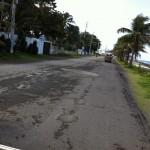 Las precarias rutas de la isla