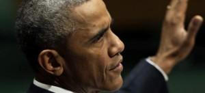 Barack Obama, el miércoles, ante la Asamblea General de Naciones Unidas. (EFE)