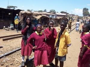 Escolares en Nairobi