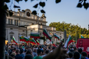 Manifestación en Sofía