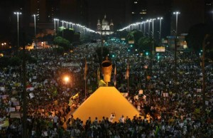Manifestación Brasil