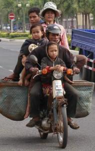 Una familia Camboya