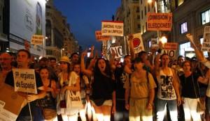 Manifestación contra la corrupción en Madrid / Jorge París