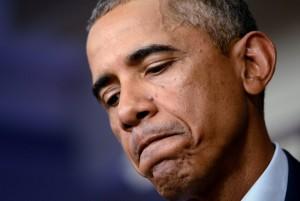 El presidente estadounidense, Barack Obama, en una rueda de prensa. (EFE)