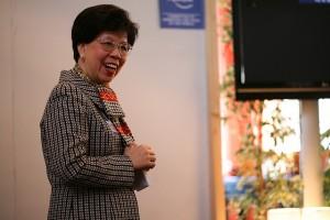 Margaret Chan, directora general de la OMS