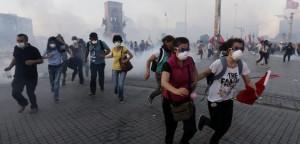 La represión de las protestas de Taksim puso en evidencia el autoritarismo del gobierno turco / EFE