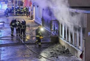ataque mezquita Suecia
