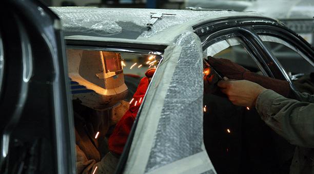 Blindaje de autos.