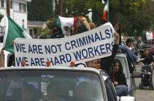 Imagen de una marcha en Los Ángeles (GTRES).