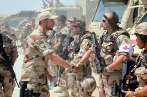El príncipe Haakon visita las fuerzas armadas noruegas en Afganistán (GTRES).