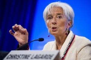 Christine Lagarde, directora del FMI / EFE
