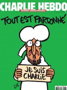 Portada del semanario Charlie Hebdo