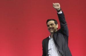 Alexis Tsipras en la apertura de la campaña electoral griega. Foto: EFE/ Archivo