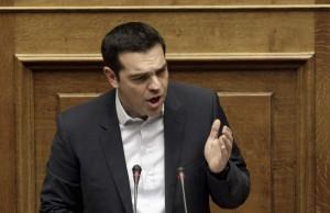 Alexis Tsipras ante el Parlamento griego / EFE