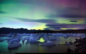 Lago Jokulsarlon en Islandia