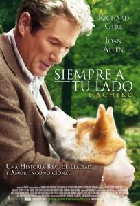 """""""Siempre a tu lado"""", la historia de Hachiko llevada al cine y protagonizada por Richard Gere."""