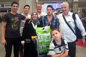 El sirio Abd Alrahman consiguió llegar en diciembre de 2014 a Brasil, donde se reunió con sus otros tres hermanos y sus padres. / ACNUR