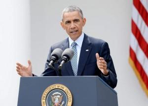 El presidente de EEUU, Barack Obama, habla en una rueda de prensa en la Casa Blanca sobre el acuerdo con Irán. (EFE/Archivo)