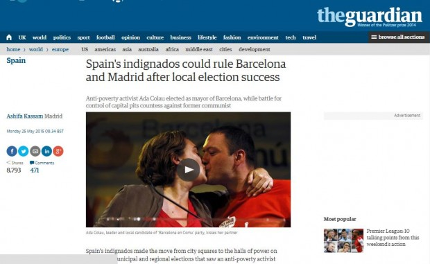 La noticia en The Guardian