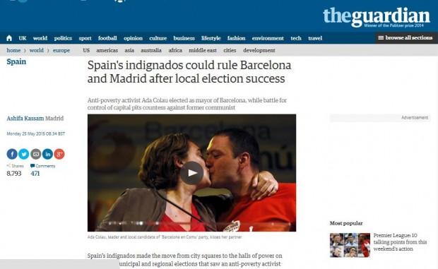 La noticia en The Guardian