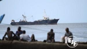 Pesca pirata en Sierra Leona / Flickr EJF
