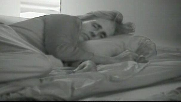 Milá, durmiendo como una bendita en GH 15