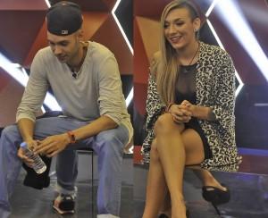 Omar y Paula, sin sacarse los ojos para variar