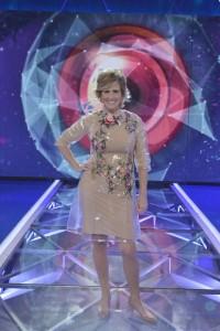 Milá, más chula que un ocho con tupé, en la Gala Final.