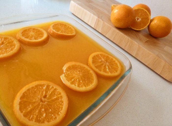 Pudin de pan con naranja cocina de aprovechamiento para for Cocina de aprovechamiento