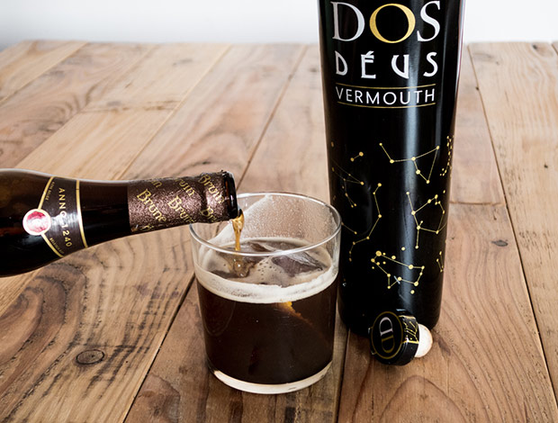 Vermut cerveza dos deus