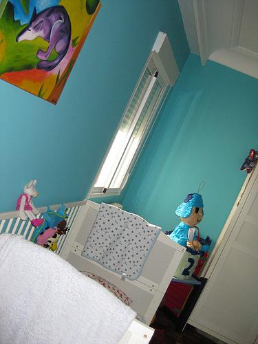La habitaci n m s grande para ellos madre reciente - Como pintar un dormitorio para que parezca mas grande ...