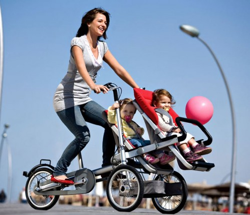 Sobre esas sillitas para llevar en tu bici a los ni os peque os madre reciente - Silla bebe bicicleta delantera ...