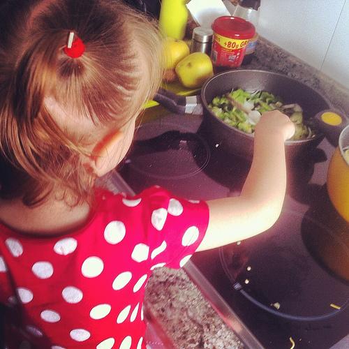 En la cocina mucha precauci n pero nada de miedo madre for Cocinar en 10 minutos