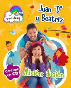 Portada del cuento de Juan D y Beatriz.