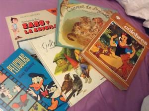 Algunos de mis viejos cuentos.