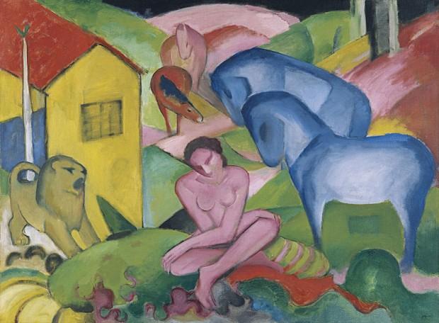 El sueño, 1912, Museo Thyssen-Bornemisza.