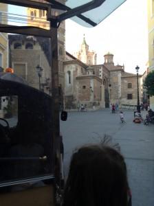 En trenecito por Teruel.