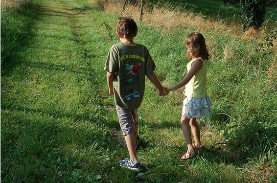 Jaime y Julia este verano.