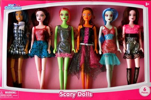 Unas muñecas inspiradas en las Monster High. (ipernity)