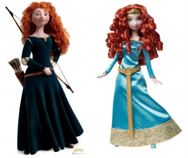 Con 'Brave' se quedaron a medio camino en la película y nos la jugaron con casi todo el merchandising posterior.